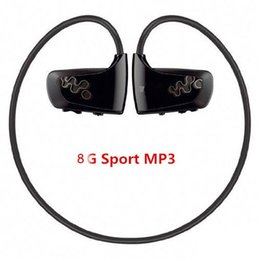 sony recorder Coupons - Wholesale- 2016 newest 8GB Sport MP3 player W262 Stereo Headset sweatband MP3 headphone for sony walkman running outdoor sport mp3 player