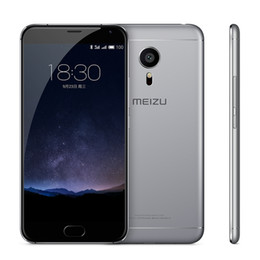 2019 mini-handy-bar Original Meizu Pro 5 Handy Exynos7420 Octa Core 3 GB / 4 GB RAM 32 GB / 64 GB ROM 2.5D Glas 5,7 Zoll 21,16 MP 4G FDD LTE Fingerabdruck ID-Telefon