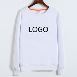 Wholesale Modal Photos - New arrival 2017 fashion blank white modal sweatshirt , logo text photo can be printed HFCMS005