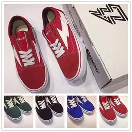 Wholesale New Forest - New Revenge X Storm Size36-44 Forest Green Red Black Blue Original Quality Mens Womens Fashion Outdoor Shoes Laced Up Sneakers Box