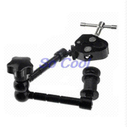 """Wholesale Articulating Clamp - Photo Studio Props 11"""" Adjustable Friction Articulating Magic Arm + Super Clamp Mount Kit for Camera LCD Monitor LED Light LF18"""