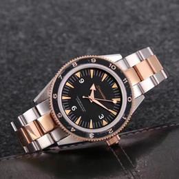 Wholesale Automatic Watch Winding Box - AquaTerra self-winding coaxial movement James Bond 007 men's business watch 316 stainless steel male Wristwatches original box