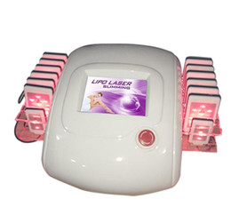 Lipo led fino on-line-a luz portátil do lipolaser do lipo conduziu o dispositivo do laser da luz do lipo do emagrecimento do corpo do laser