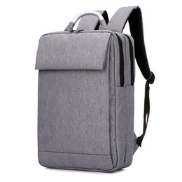 Wholesale Popular Laptops - Women Backpack Man Popular Solid Color Backpack For Woman School Bag College Wind Small Fresh Fashion Men Backpack Laptop Bag