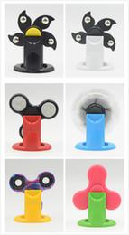 Wholesale Plastic Model Display Stand - Fidget Spinner Holder For Various Models Hand Spinner Support Hard Plastic Display Stands Stand Kicstand Spinning Top Toy Mount JC327