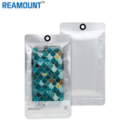 Wholesale Hanging Wallets - New Style Sliver Zipper Plastic Retail Packaging Bag Ziplock Cell Phone Case Poly pp Package Bag Hang Hole for iphone case