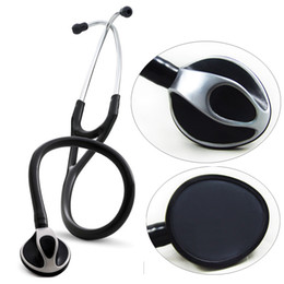 Wholesale Professional Cardiology Stethoscope Built in Dual Channel Tube Single Head Medical Stethoscope Home Use