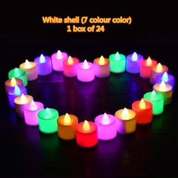Wholesale Candle Married - 2017 new popular LED light candle marry wedding birthday party creative props most surprising gift factory direct DHL free shipping