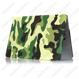 """Wholesale Macbook Air Hard Shell Case - Army Camouflage Rubberized Frosted Matte Hard Shell Laptop Cases Full Body Protector Case Cover for Apple Macbook Air Pro 11'' 12'' 13"""" 15"""""""