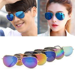 Wholesale Vintage Glass Frog - Women Men Mirror Frog Sunglasses Retro Reflective Sunglasses Fashion Designer Eyeglasses Vintage Driver Glasses UV400 Outdoor Sunglasses