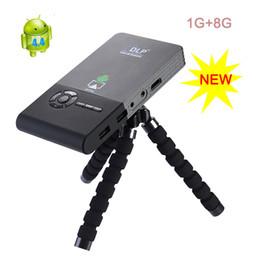 Wholesale Mini Hdmi 5m - Wholesale-1000 Lumens dlp Pocket Projector Mini 1920x1080 Full HD LED Projector C2 Distance1-5M WIFI Projector Built in 5000mAh Battery