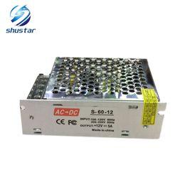 Voltaje del transformador online-La fuente de alimentación es DC 12V, 110V-240V, 10a, 120W transformador, fuente de alimentación conmutada, banda de lámpara LED, cartelera LED