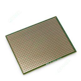Wholesale Pcb Solder - 70mm x 90mm Prototype Strip Copper PCB Printed Circuit Board Stripboard For Welding Soldering Repair