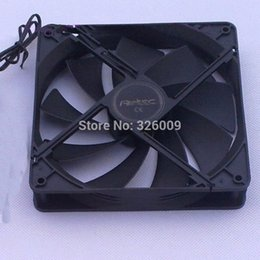 Wholesale computer power supply fans - Wholesale- Silent 800RPM, case fan 140mm, 14cm fan, for power supply, for computer Case, computer fan, 14025