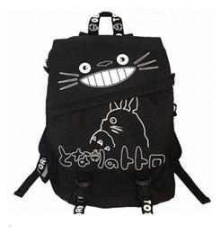 Wholesale Totoro School Backpack - Wholesale- Hayao Miyazaki Totoro Bag Anime Backpack School Bags 2017 Oxford Cartoon Book Bookbag Teenagers My Neighbour Totoro Printed