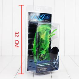 Wholesale Alien Predator Figures - 20cm NECA Alien VS Predator Alien PVC Action Figure toy for kids christmas gift Free Shipping