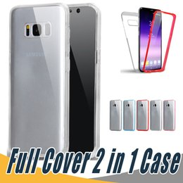 Wholesale Iphone Front Back Skin - 360 Degree Full Body Protection Case PC+TPU Front Back Touch Screen Skin Cover Full Cover Body Case For Huawei P9 P10 Lite Plus P8 Lite 2017