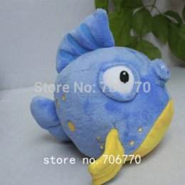 """Wholesale Inflatable Doll New - IN HAND!! NEW Original Junior's Doc McStuffins & Friends ~Squeakers~Fish 6"""" 15CM STUFFED PLUSH DOLL TOY BEST GIFT FREE SHIPPING"""