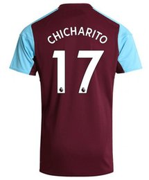 Wholesale Noble Football - 2017 new 17 Chicharito Thai Quality Soccer Jerseys Tops,Customize 9 Carroll 7 Feghouli Soccer Jersey,mens 20 A.Ayew 16 Noble football Wear