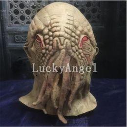 Gros Horror Octopus Latex Masque Full Face Halloween Émulsion Naturelle Monster Octopus Docteur Tête Masques Mascarade Parti Costumes Accessoires ? partir de fabricateur