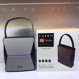 Wholesale High End Hifi Wholesaler - High-end Quality Wireless Bluetooth Speaker TG-023 Portable Large Portable Metal Bluetooth Audio, The Best Sound Quality, Factory Direct
