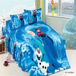 Wholesale Sheet Set Single Girl - Wholesale-mavelous ice burger twin single size girls bedding set of duvet cover bed sheet pillow case 2 3pcs kit