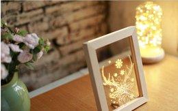 Wholesale Cartoon Deer Birthday Party - Nordic ideas fawn night light on a light antlers birthday present ikea frame wood deer head lamp