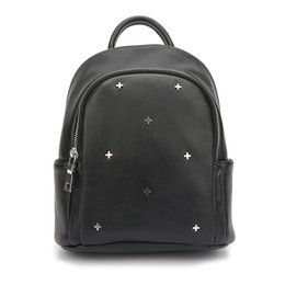 Wholesale Korean Small Backpack - The new spring and summer 2017 PU imitation sheepskin casual fashion all-match backpack Korean Mini Backpack, rivet