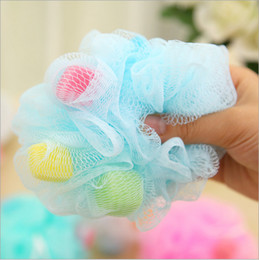 Wholesale Body Selling Massage - Bath Ball Texture Soft And Delicate Comfortable Use Scrubbers No Stimulation Exfoliator Brushes Hot Sell 0 75rr R