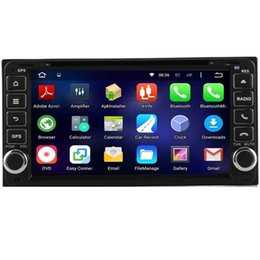 Wholesale Camera Camry - 6.95'' Android 6.0 Car DVD Player For Toyota RAV4 Camry Corolla VIOS HILUX PRADO With Camera Map