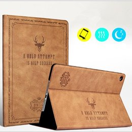 Wholesale Luxury Leather Ipad Air Cases - Leather Case For Ipad Mini Air Pro 1 2 3 4 5 6 7 Pro 10.5 Luxury Housing for Apple With Auto Wake Up+Sleep Flip Cover Tablet Holder GSZ380