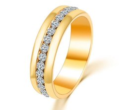 Wholesale Paving Supplies - New hot selling women's ring clip diamond ring luxury ring simple fashion manufacturers supply free shipping