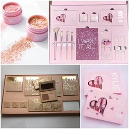 Wholesale Big Naturals - Kylie Vacation Edition Collection bundle Kylie Jenner I WANT IT ALL The Birthday Collection Vacation Limited Edition Makeup Kit Big Box Set