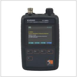 Wholesale Ham Antennas - KVE60C HF Short Wave Vector Impedance Antenna Analyzer for Amateur HAM Radios 0.5-60MHz with 3pcs RF Adapters