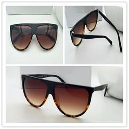 Wholesale vintage pilot sunglasses - New vintage sunglasses CE41435 Audrey fashion sunglasses women brand designer two-color pilots frame top quality anti-UV lens