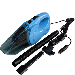 Wholesale Vacuum Drying - Wholesale-4.5m cable 120w car vacuum cleaner wet and dry dual-use super suction dc12v car vacuum cleaner for car cleaning