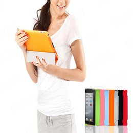 Wholesale Ipad Smart Cover Partner - Wholesale-1 PC Slim Back Case Suits Smart Cover Partner for iPad 2 3 Multi-Color Free Shipping XDA0005