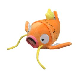"""Wholesale Stuffed Animals For Ems - Free Shipping EMS New Magikarp Soft Stuffed Plush Toy Doll Kids Gift 8"""" Good For Best Gift"""