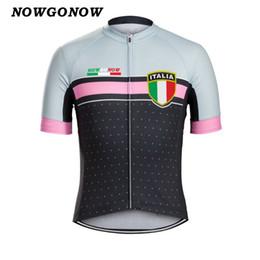 Argentina Hombre 2017 ciclismo jersey campeón de verano ropa moto desgaste equipo italiano Italia falg tops bicicleta fresca camisa rosa MTB carretera maillot ciclismo Suministro