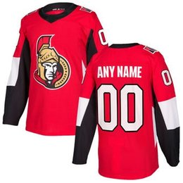 Wholesale Icing Store - nhl hockey jerseys cheap Mens Ottawa Senators Red Authentic Custom Jersey store usa sports ice hockey blank personalized authentic women AD