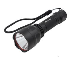 Wholesale High Power Led Bike Lights - Bicycle flashlight 5000Lumens Hand hold high power T6 bicycling hunting equipment bike Torch ridding torch lighting led tactical 500M