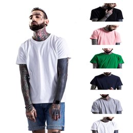 Wholesale Pink Sz L - Free shipping 2017 High quality cotton new O-neck short sleeve t-shirt brand men T-shirts casual style for sport men T-shirts SZ-TX001