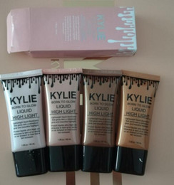 Wholesale Bb Liquid Cream - newest the new Kylie BB Cream Moisturizing Liquid Foundation Concealer strong nude make-up brighten complexion free shipping