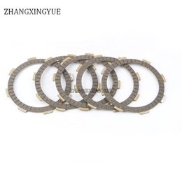 Wholesale Clutch Friction Plates - 5 piece of clutch friction plate for HONDA CG125 156FMI ATV125