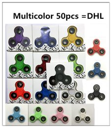 Wholesale Variety Toys Wholesale - Fidget Spinner toy DHL finger spinner toy Handspinner Spinner Toy For Decompression Anxiety Toys with retailed box variety colors