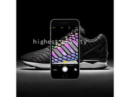 Wholesale New Flux - (With Box) Wholesale cheap new The chameleon men's and women's shoes ZX FLUX XENO new reflective black snake spirit leisure shoes size 36-44
