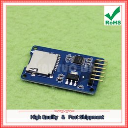 Wholesale Micro Chip Reader - Free Shipping 5pcs Micro SD card module TF card reader card SPI interface with level conversion chip (H5A2)