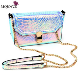 Wholesale Blue Cross Beauty - Wholesale-2016 New European Socialite Small Clutch Chain Bags High Quality Lady Serpentine Pattern Bags Beauty Design Women Messenger Bags