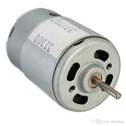 Wholesale 9v Motors - New DC3-12V Large Torque Motor Super model with High Speed Motor New Arrival Rated voltage 9V 20W
