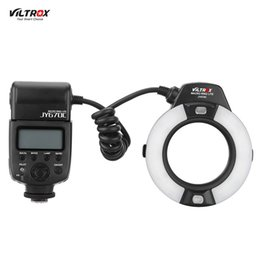 Wholesale Camera 5d Mark Ii - Viltrox JY-670C Professional Macro Ring Flash Light Lite 5500k Speedlite for Canon 600D 650D 700D 1100D 6D 7D 5D Mark II Camera